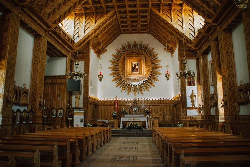 Bachledówka Paulini - sanktuarium Matki Bożej Czętochowskiej