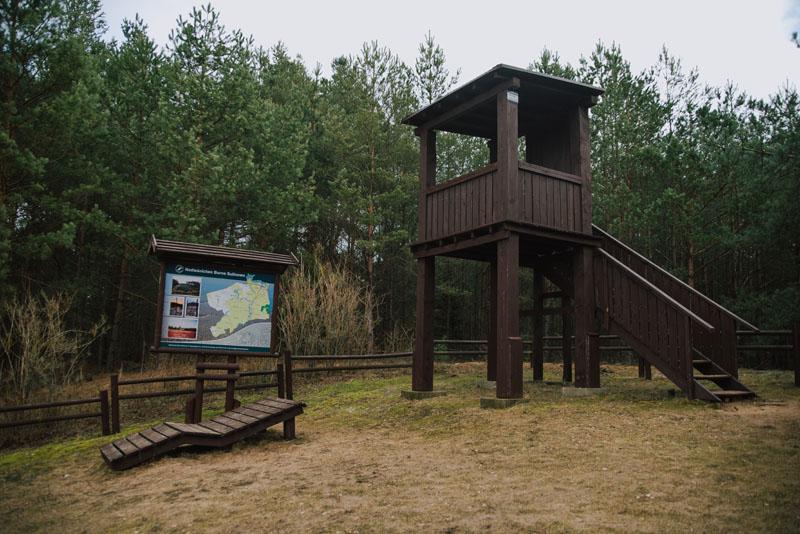 Punkt widokowy Zalew Nadarzyce - wieża obserwacyjna