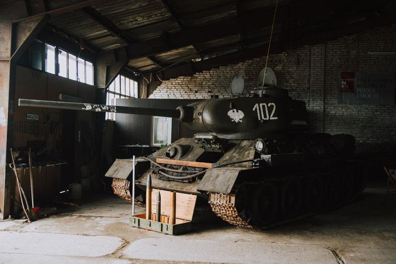 Muzeum Militarnej Historii Bornego Sulinowa i poligon wojskowy