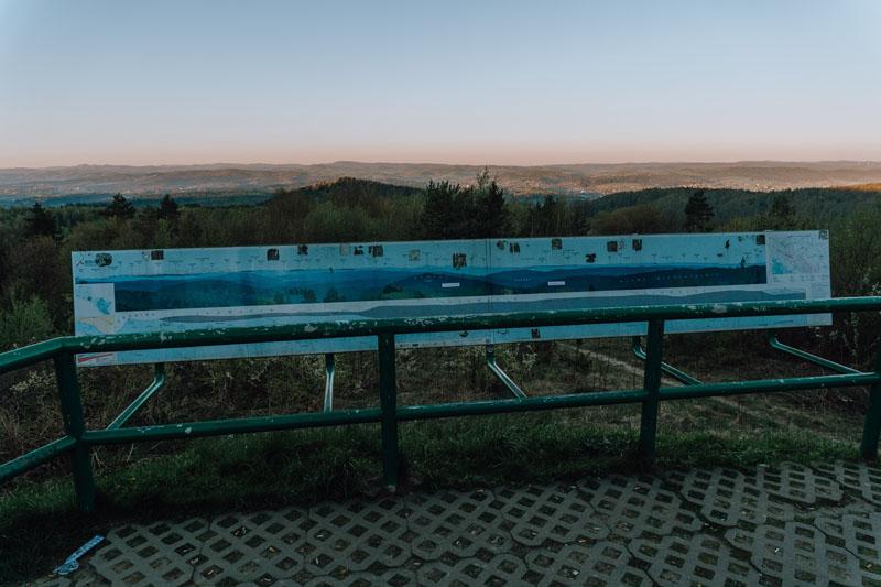 Góry Słonne - punkt widokowy
