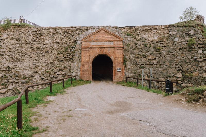 Droga do fortu