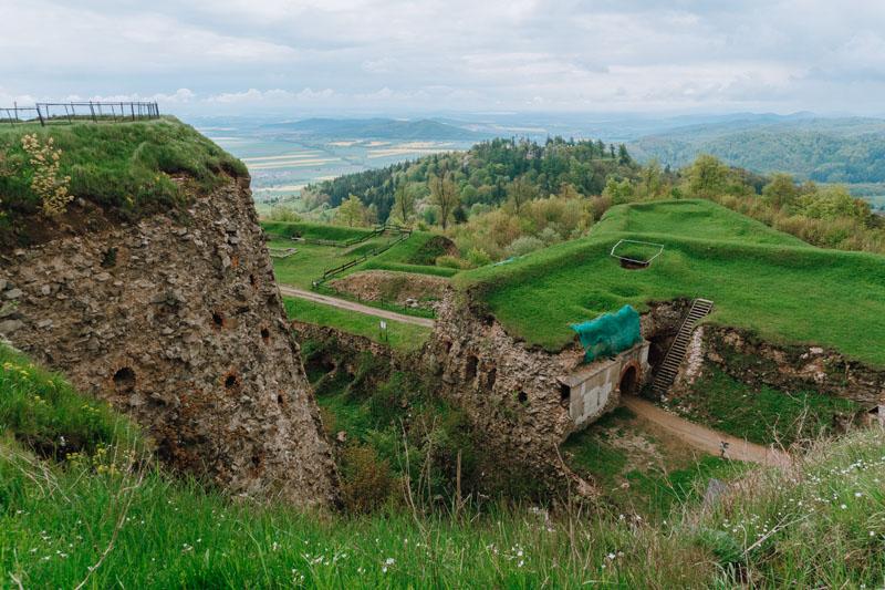 Zwiedzanie największej górskiej twierdzy w Europie