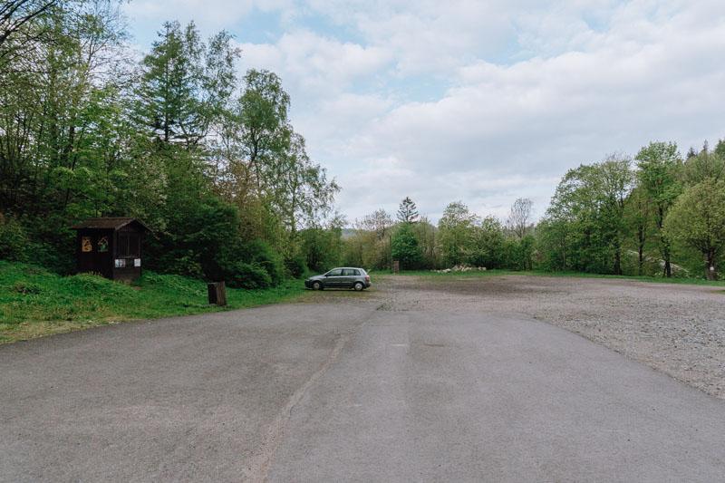 Parking Srebrna Góra