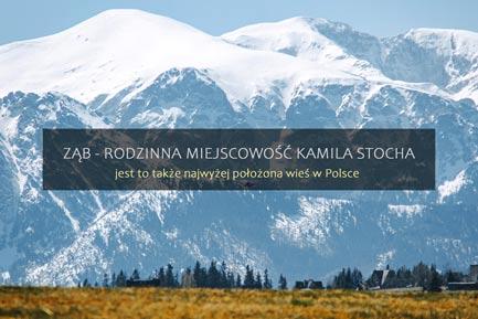 Ząb - miejscowość Kamila Stocha