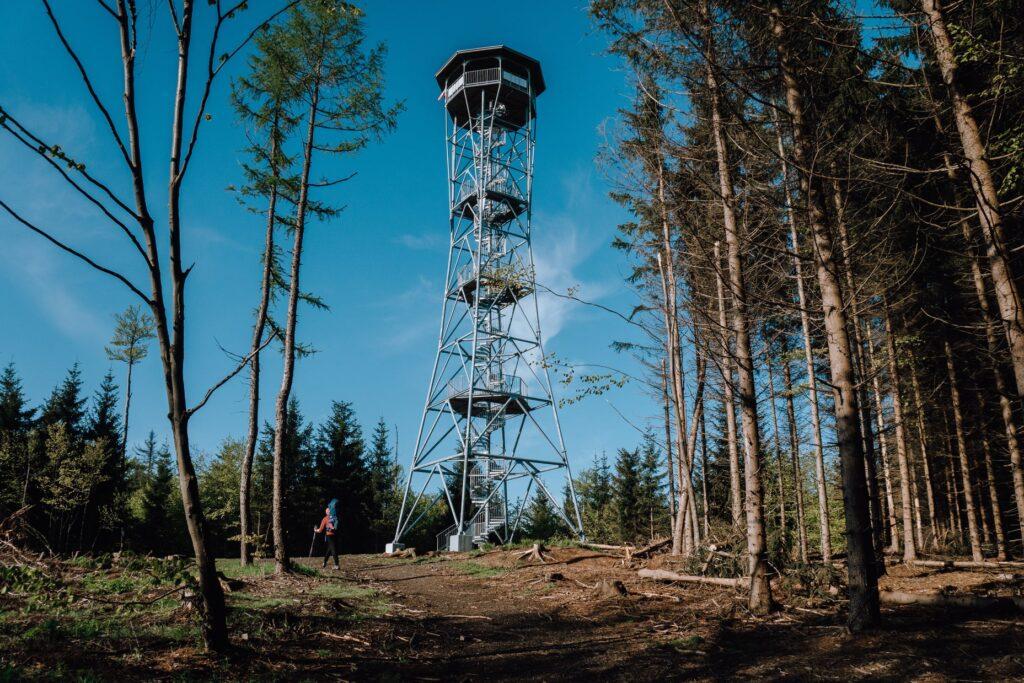 Kłodzka Góra - wieża widokowa