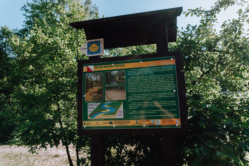 Szlak Doliny Sztoły mapa