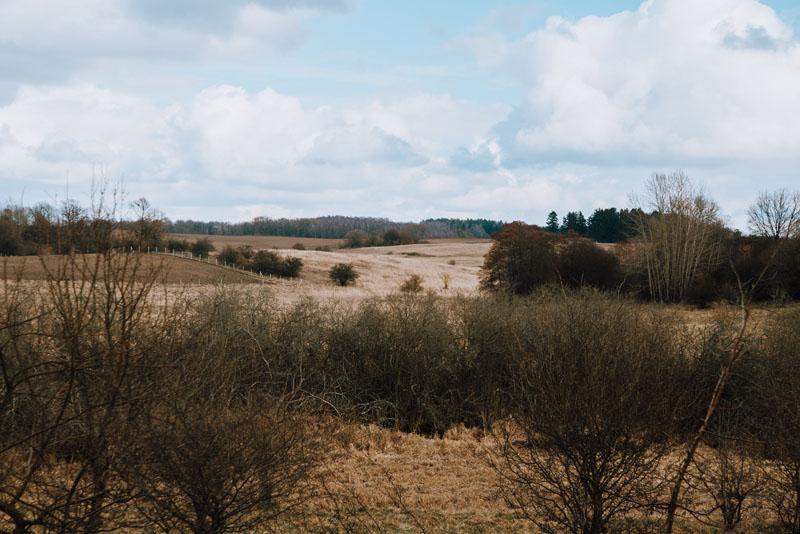 Kraina wzgórzami i jeziorami usiana