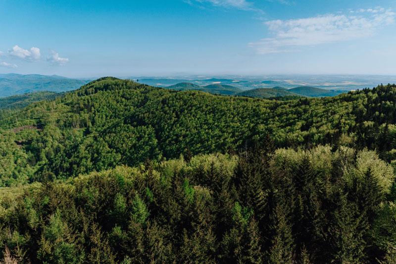 Widoki z Kłodzkiej Góry