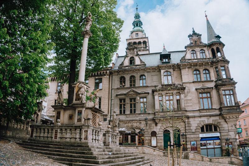 Plac Bolesława Chrobrego w Kłodzku
