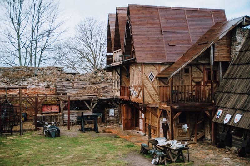 Zamek Stare Drawsko