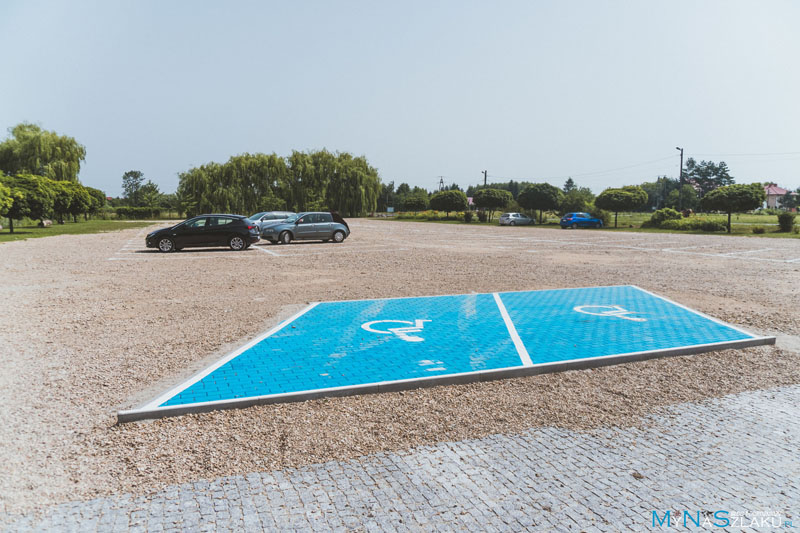 Arboretum Bolestraszyce parking