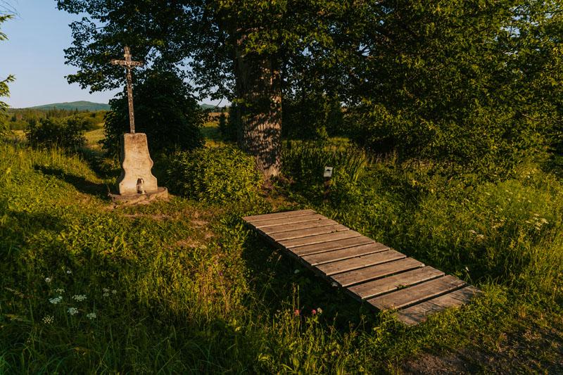 Nieistniejąca wieś Beniowa w Dolinie Górnego Sanu