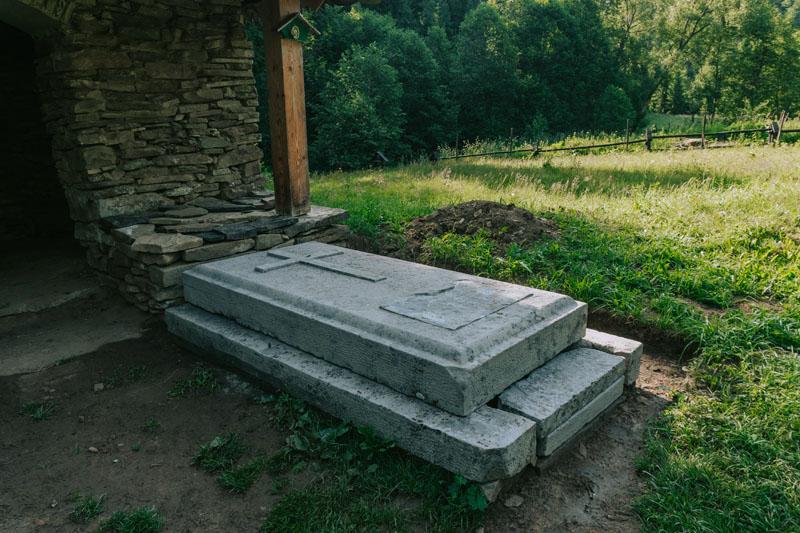 Grób Hrabiny w Siankach