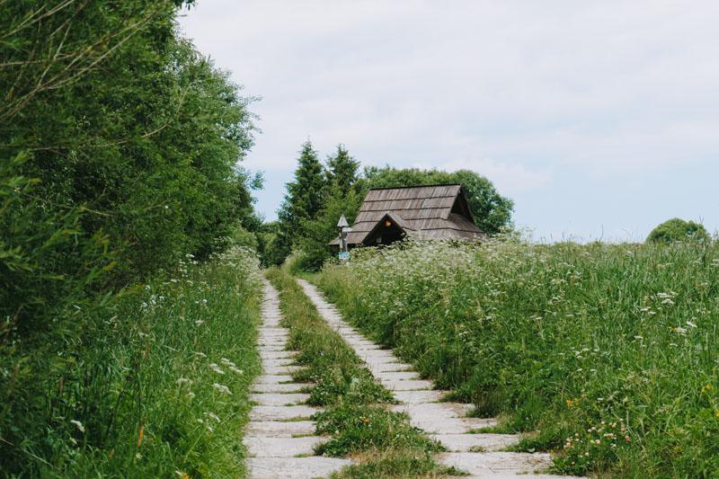 Cmentarze w Dźwiniaczu Górnym i nieistniejąca wieś