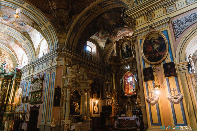 Historia kościoła i klasztoru franciszkanów