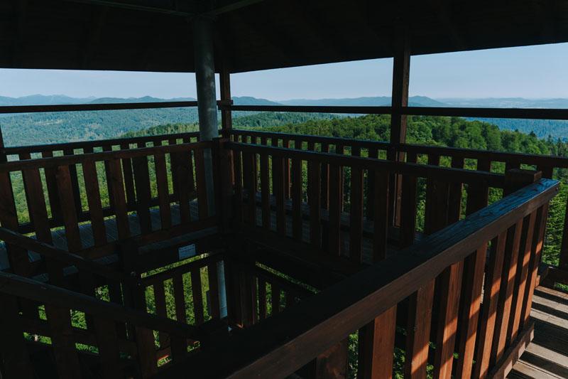 Wieża widokowa na Jeleniowatym
