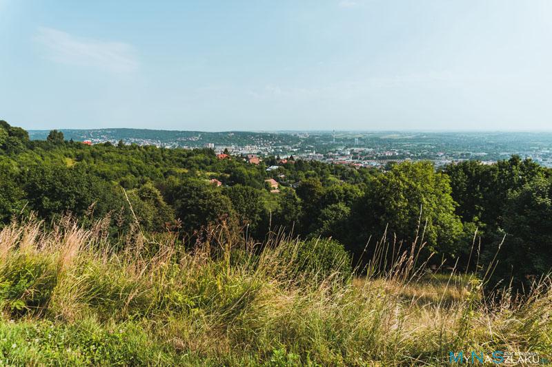 Kopiec Tatarski jako widokowa atrakcja Przemyśla