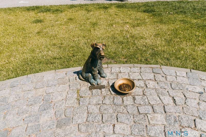 Pomnik wojaka Szwejka i jego psa