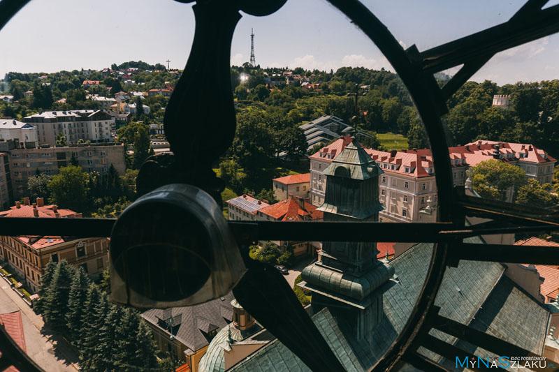 Taras widokowy na wieży katedralnej w Przemyślu