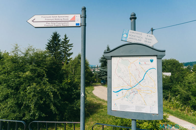 Szlaki turystyczne w Przemyślu