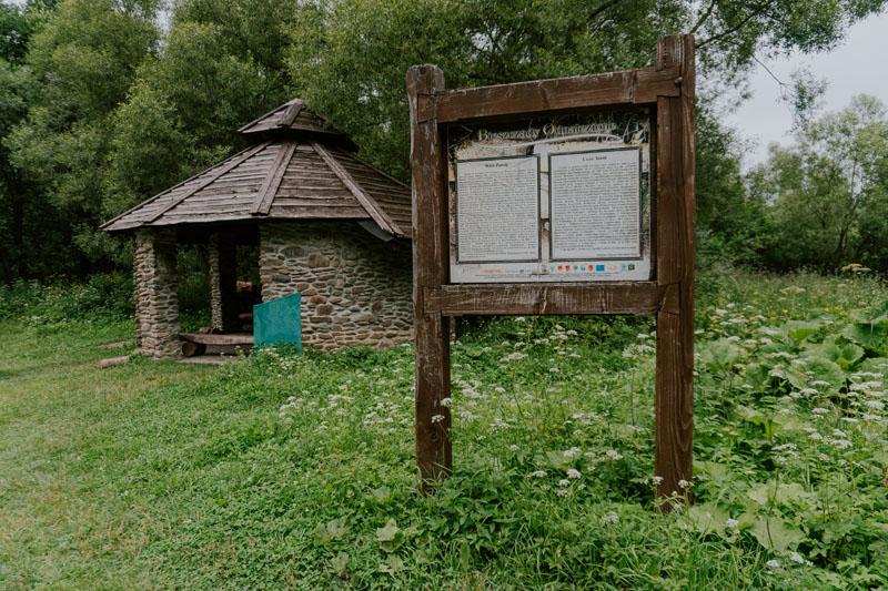 Opuszczona wieś Zawój