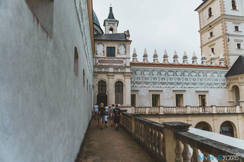 Zamek koło Przemyśla