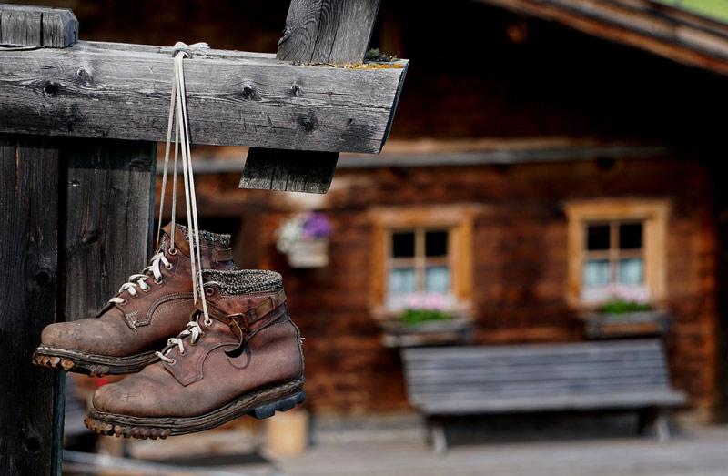 Buty do górskiej wycieczki