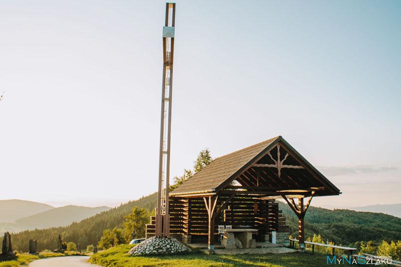 Góra Modyń - wieża widokowa