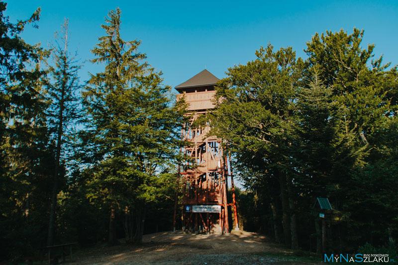 Modyń - wieża widokowa