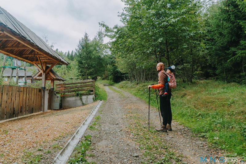 Zielony szlak przez Hujdy i Spalenicę