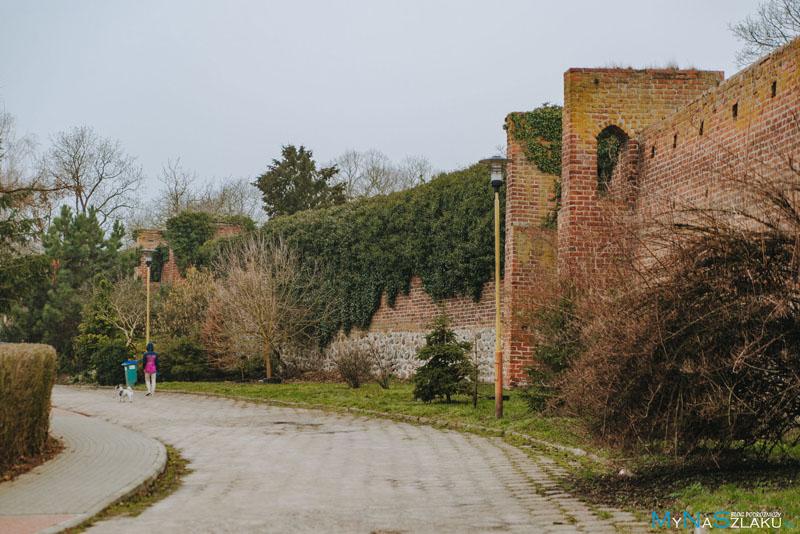Pyrzyce - mury obronne