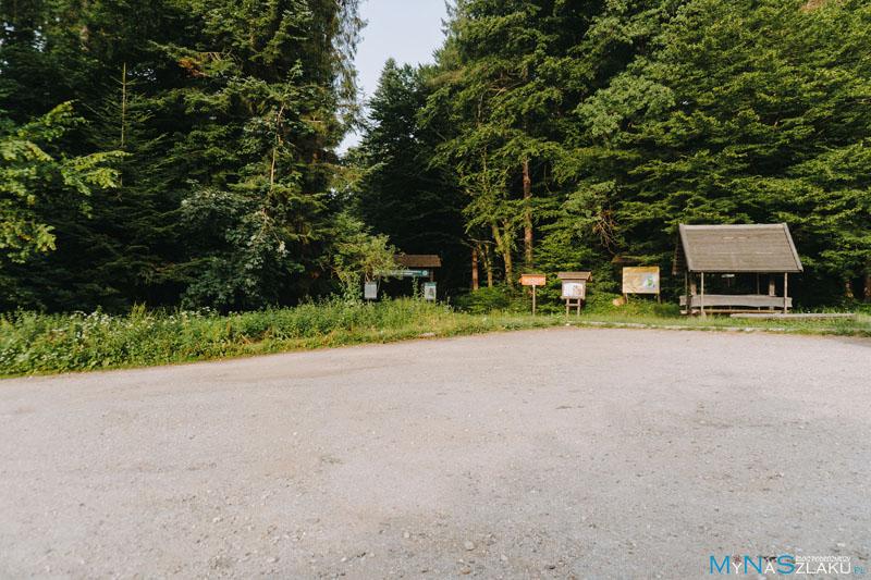 Rezerwat Krępak - parking