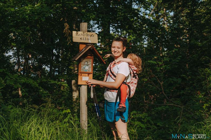 Suchy Obycz - szczyt Pogórza Przemyskiego