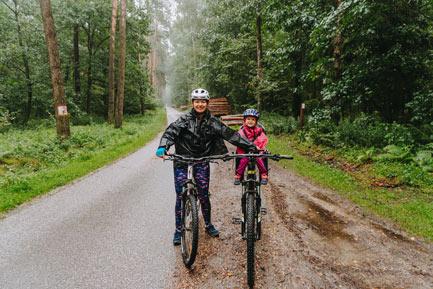 Lasy Kozłowieckie na rowerze