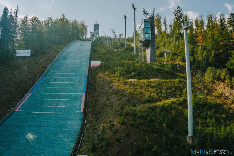 """Skocznia narciarska imienia Adama Małysza """"Wisła Malinka"""""""