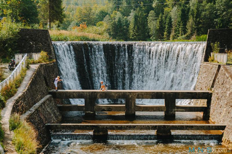 Wodospad na Wiśle