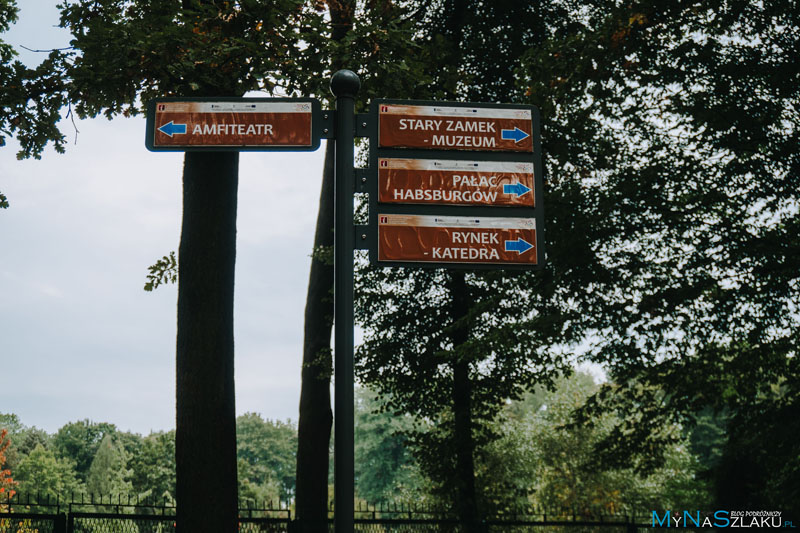 Zabytkowy Park Zamkowy