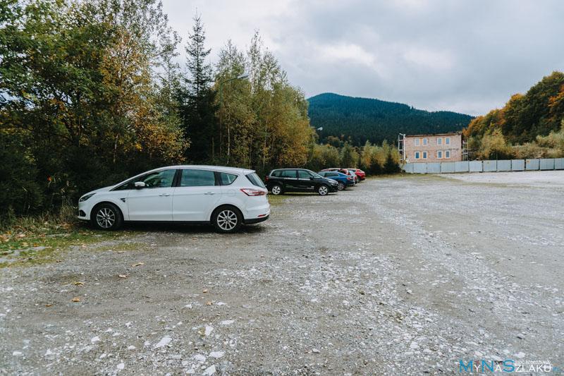 Jaskinia Niedźwiedzia w Kletnie parking
