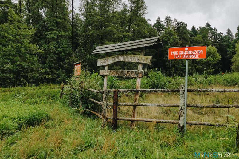 Lasy Janowskie atrakcje