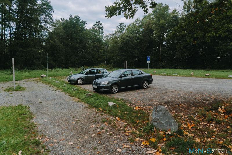Łężczok parking